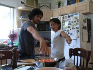 Yogins turned chefs