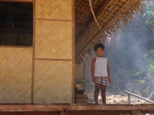 A Tagbanua girl