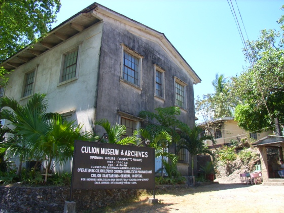 the museum that houses the artifacts in the old leprosarium